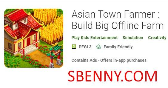 Asian Town Farmer Unlimited Money MOD APK Free Download