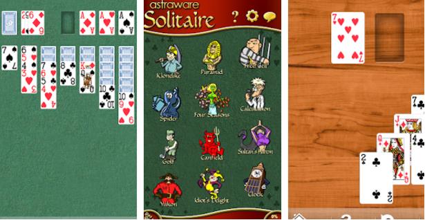 astraware solitaire