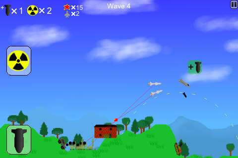 Bombardero atómico Descargar gratis Juego para Android