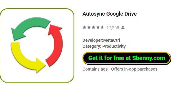 autosync google fahren