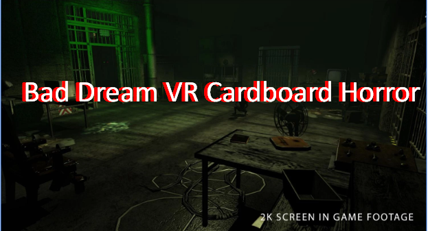 Bad Dream VR Cardboard Horror MOD APK Android Free Download