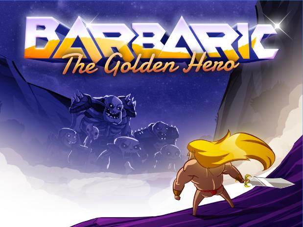 barbarisch der goldenen Helden