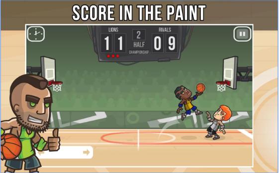 баскетбол бой Android APK