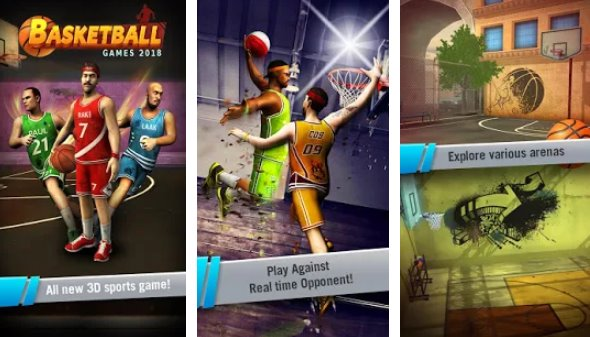 Basketball Games 2018 Free In-App Purchases MOD APK