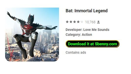 leyenda inmortal del murciélago