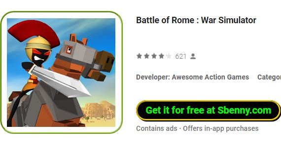 Batalla de rome war Simulator