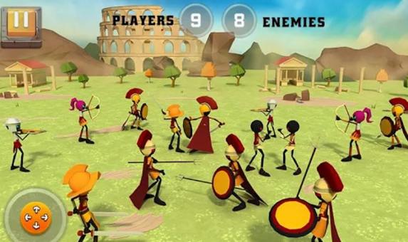 Batalla de la guerra de Roma Simulador APK Android