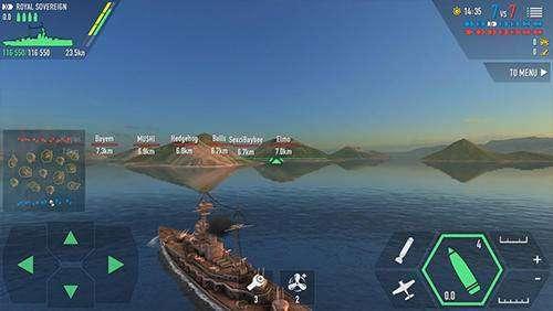 batalla de los buques de guerra APK Android