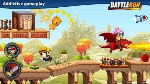 Batalha Run MOD APK Jogo para Android Download