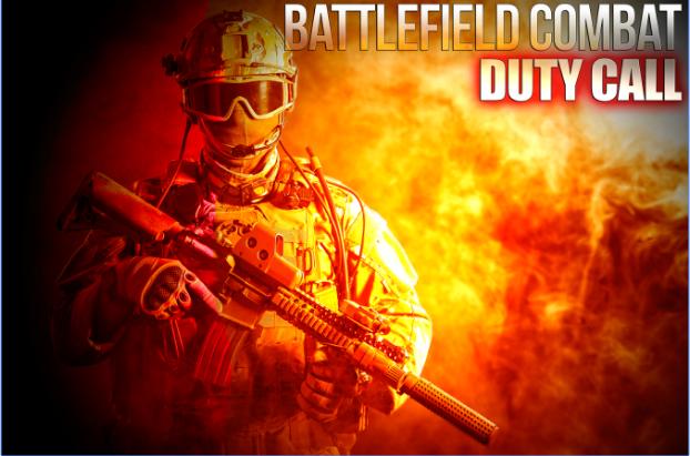 Schlachtfeld Kampf Pflichtruf