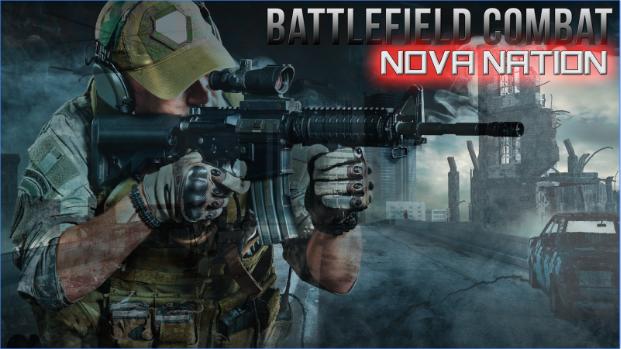 Schlachtfeld Kampf nova Nation