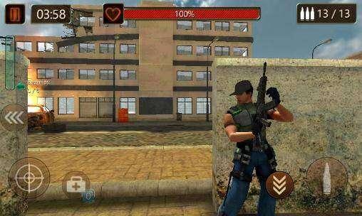 campo de batalla de la ciudad de primera línea APK Android