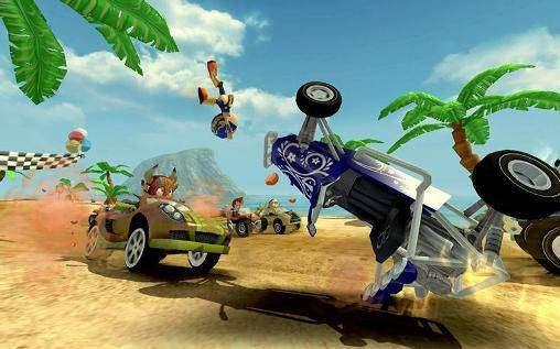 beach buggy racing mod apk old version