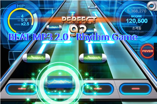 beat mp3 2.0 rhythm game