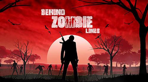 detrás de las líneas zombie