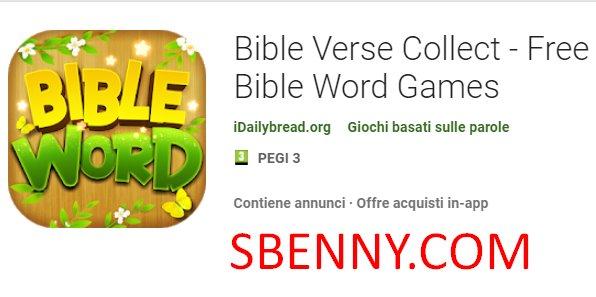 Bibelvers sammeln kostenlose Bibelwortspiele