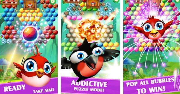 birds rescue bubble APK Android