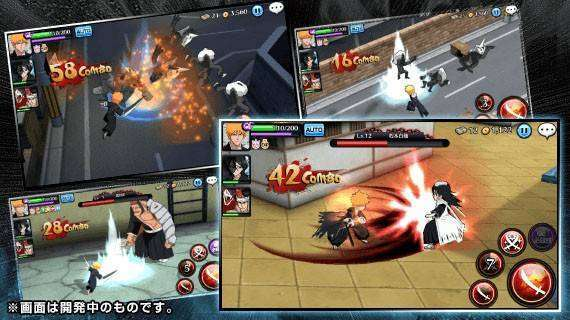 BLEACH almas corajosas MOD APK Android Download