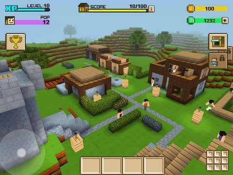 Block craft 3d unlimited gems coins mod apk for Block craft 3d online play