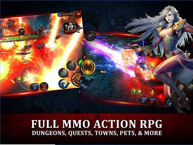 chevaliers de sang action rpg APK Android