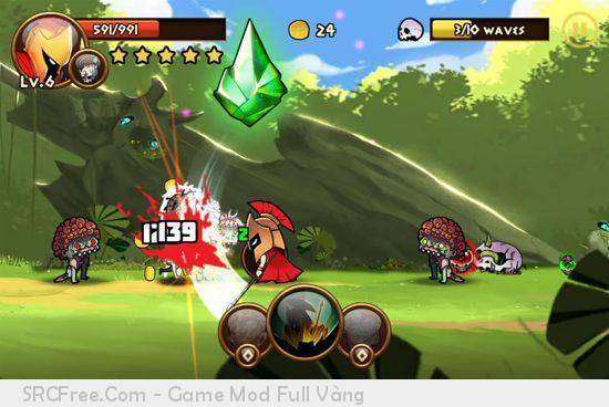 Brave Warriors: Zombie Revenge MOD APK Android Free Download