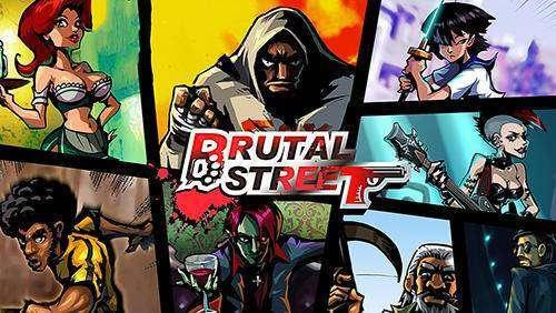 brutal Straße