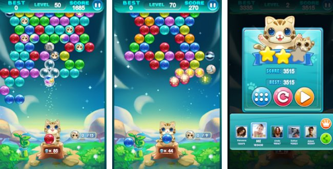 bubble cat APK Android