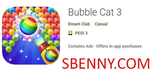 chat à bulles 3