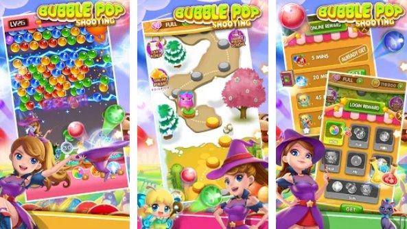 bulle pop classique jeu de tir à bulles match 3 APK Android