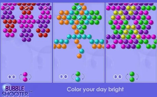 bubble shooter free download for mobile