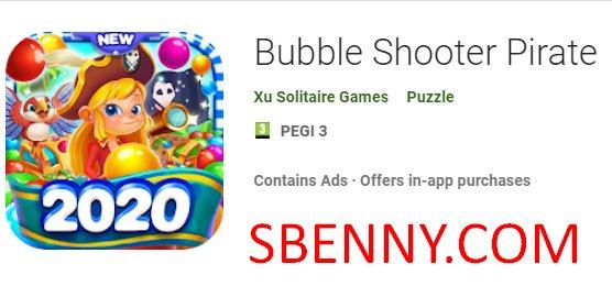 pirata tirador de burbujas