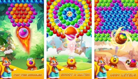 bubble story 2019 bubble shooting puzzle adventure APK Android