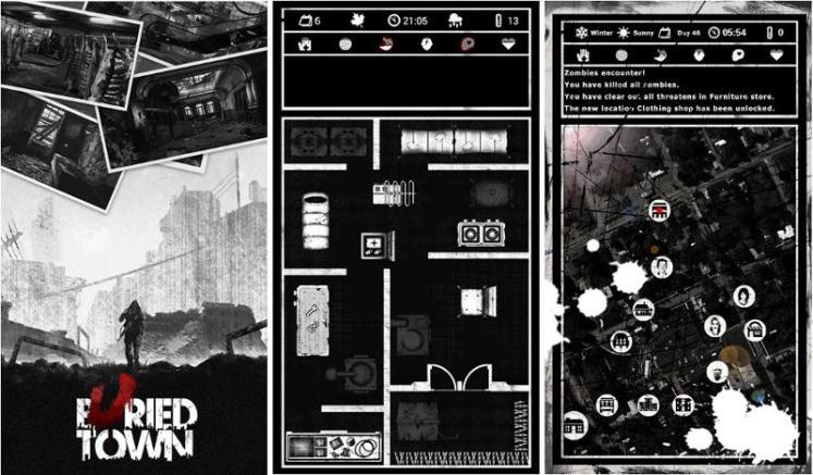 Buried Town - Gioco APK Android gratuito per Zombie Survival Apocalypse
