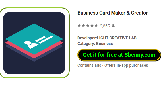 Business card maker creator premium unlocked mod apk business card maker and creator colourmoves