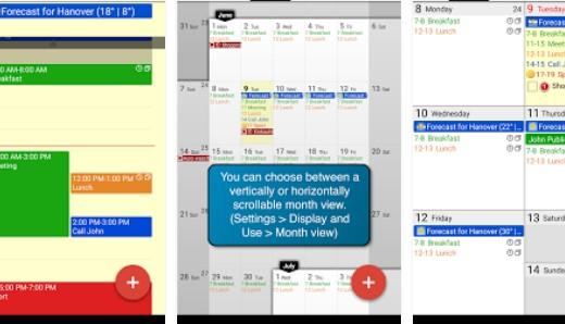 Calengoo calendário e tarefas APK Android