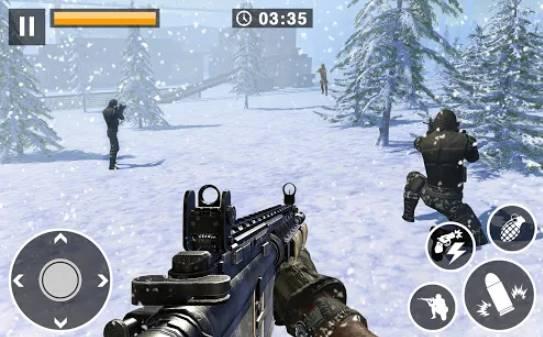 appel à la guerre hiver survie tireurs d'élite bataille ww2 APK Android