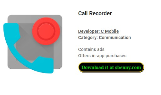 Call Recorder Premium In-App Purchases MOD APK Download