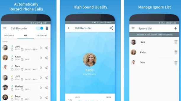 Call Recorder Automatic Premium In-App Purchases MOD APK