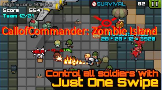callofcommander Zombie-Insel