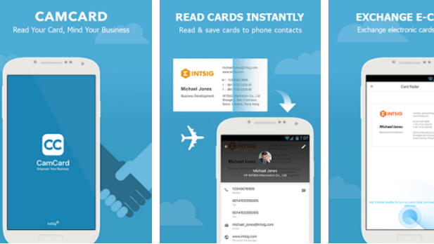 Camcard business card reader apk for android download camcard business card reader apk android reheart Choice Image
