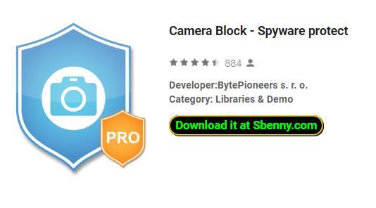 카메라 블록 스파이웨어 보호