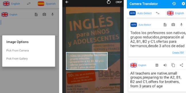 камера переводчик перевод картинки сканер pdf APK Android