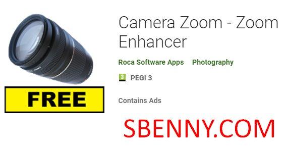 potenziatore zoom della fotocamera