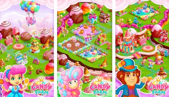 Candy Farm: Magic cake town Unlimited Coins MOD APK Downlaod