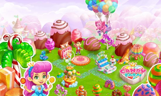 Süßigkeiten Farm Magic Cake Townand Cookie Drachengeschichte APK Android