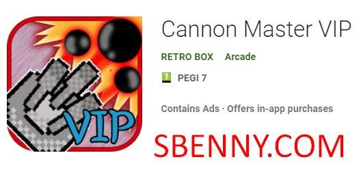 Cannon Master VIP
