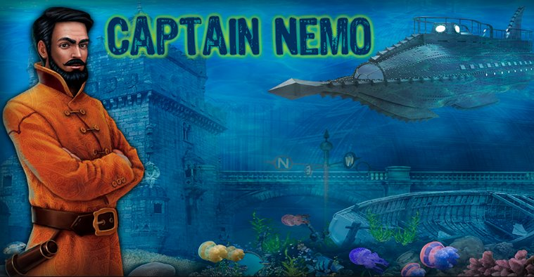 Kapitän Nemo Spiele versteckte Objekte