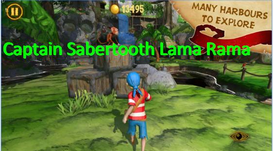capitán Rama lama dientes de sable