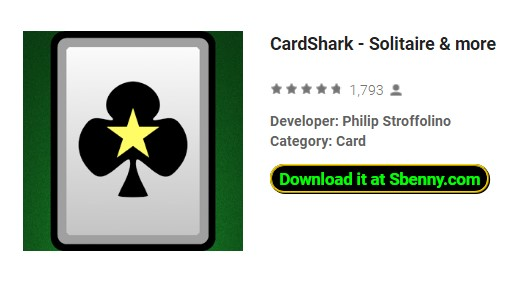 cardshark solitaire and more