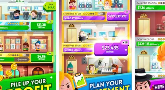cash inc de renommée et jeu de fortune APK Android